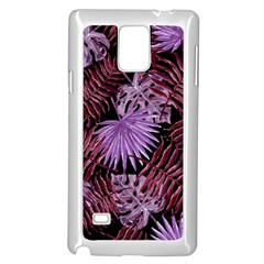 Tropical Pattern Samsung Galaxy Note 4 Case (white)