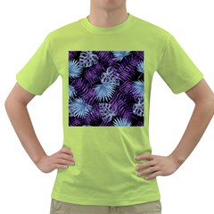 Tropical Pattern Green T Shirt