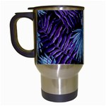 Tropical pattern Travel Mugs (White) Left