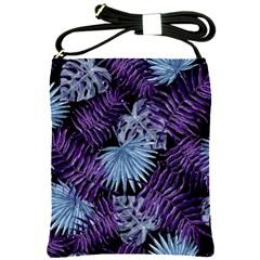 Tropical Pattern Shoulder Sling Bags