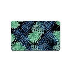 Tropical Pattern Magnet (name Card)