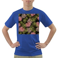 Tropical Pattern Dark T Shirt