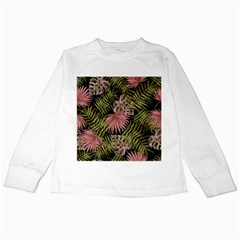 Tropical Pattern Kids Long Sleeve T Shirts