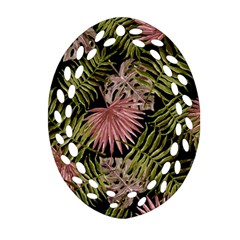 Tropical Pattern Ornament (oval Filigree)