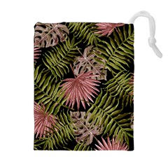 Tropical Pattern Drawstring Pouches (extra Large)