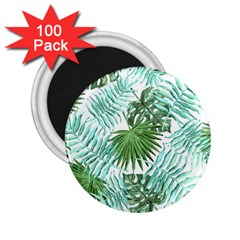 Tropical Pattern 2 25  Magnets (100 Pack)