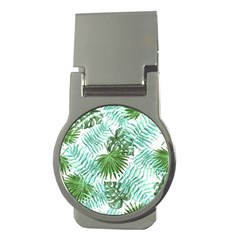 Tropical Pattern Money Clips (round)