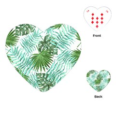 Tropical Pattern Playing Cards (heart)