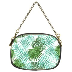 Tropical Pattern Chain Purses (two Sides)