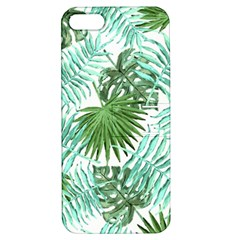Tropical Pattern Apple Iphone 5 Hardshell Case With Stand