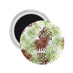 Tropical Pattern 2 25  Magnets