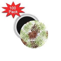 Tropical Pattern 1 75  Magnets (100 Pack)