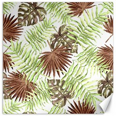 Tropical Pattern Canvas 20  X 20