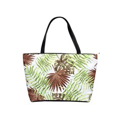 Tropical Pattern Shoulder Handbags