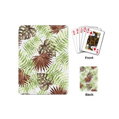 Tropical Pattern Playing Cards (mini)
