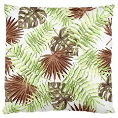 Tropical Pattern Standard Flano Cushion Case (two Sides)