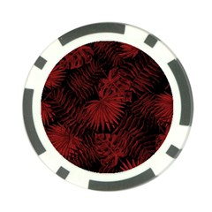 Tropical Pattern Poker Chip Card Guard (10 Pack)