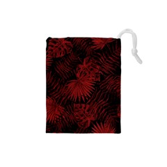 Tropical Pattern Drawstring Pouches (small)