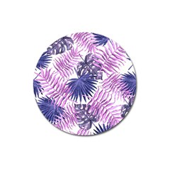 Tropical Pattern Magnet 3  (round)