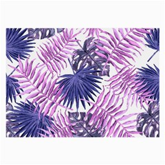 Tropical Pattern Large Glasses Cloth (2 Side)