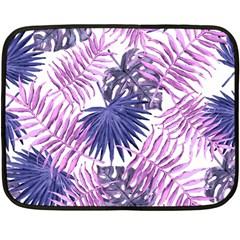 Tropical Pattern Double Sided Fleece Blanket (mini)