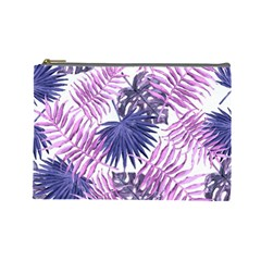 Tropical Pattern Cosmetic Bag (large)