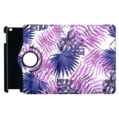 Tropical Pattern Apple Ipad 3/4 Flip 360 Case