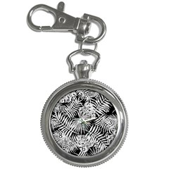 Tropical Pattern Key Chain Watches