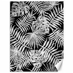 Tropical Pattern Canvas 36  X 48