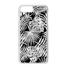 Tropical Pattern Apple Iphone 7 Plus White Seamless Case