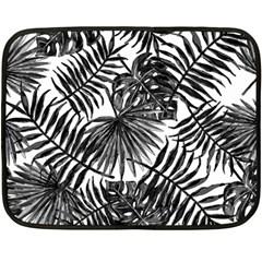 Tropical Pattern Fleece Blanket (mini)