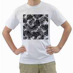 Tropical Pattern Men s T Shirt (white)