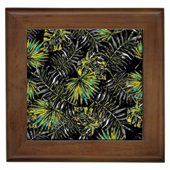 Tropical Pattern Framed Tiles