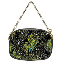 Tropical Pattern Chain Purses (one Side)