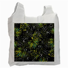 Tropical Pattern Recycle Bag (two Side)