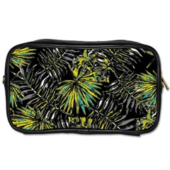 Tropical Pattern Toiletries Bags 2 Side