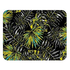 Tropical Pattern Double Sided Flano Blanket (large)