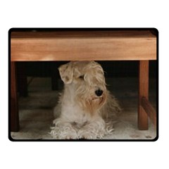 Sealyham Terrier Laying Fleece Blanket (small)