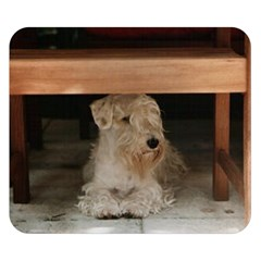 Sealyham Terrier Laying Double Sided Flano Blanket (small)