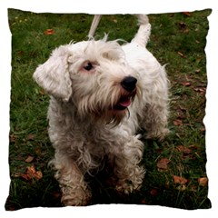 Sealyham Terrier Full Large Cushion Case (two Sides)