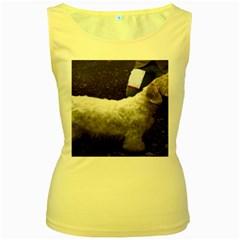 Sealyham Terrier Full 2 Women s Yellow Tank Top