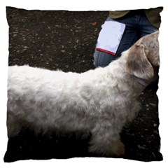 Sealyham Terrier Full 2 Large Flano Cushion Case (two Sides)
