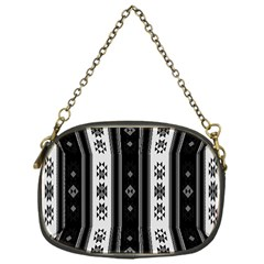 Folklore Pattern Chain Purses (one Side)
