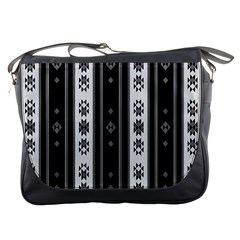 Folklore Pattern Messenger Bags