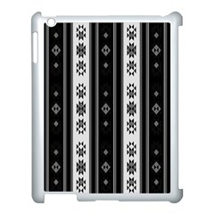 Folklore Pattern Apple Ipad 3/4 Case (white)