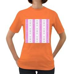 Folklore Pattern Women s Dark T Shirt