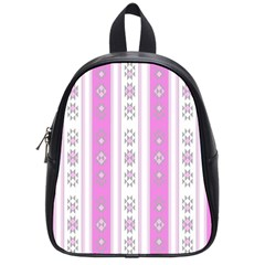 Folklore Pattern School Bag (small)