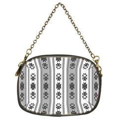 Folklore Pattern Chain Purses (two Sides)