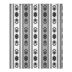 Folklore Pattern Shower Curtain 60  X 72  (medium)
