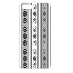 Folklore Pattern Apple Iphone 5 Seamless Case (white)